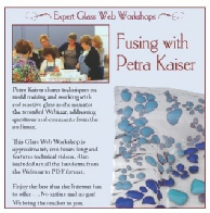learn glass fusing with Kaiser Lee Board